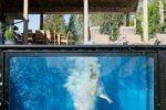 Η πισίνα-κοντέινερ που μπορεί να χρησιμοποιηθεί όλες τις εποχές του χρόνου