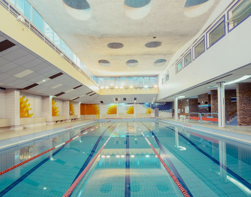 Η αρχιτεκτονική της άδειας πισίνας