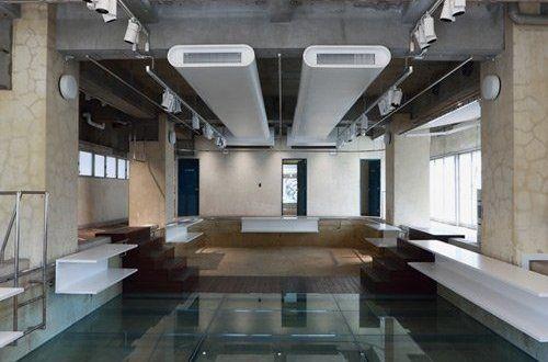 Θεαματική ανακαίνιση πισίνας στο Τόκιο