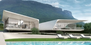 Βίλα πρωτοποριακής σχεδίασης στην Ιταλία