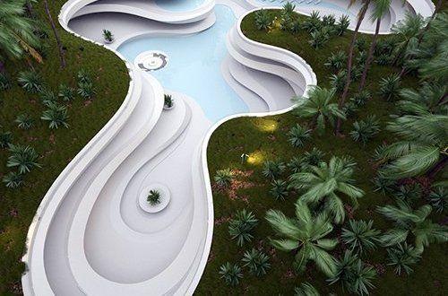 Υπόγεια πισίνα μιμείται την διάβρωση του εδάφους